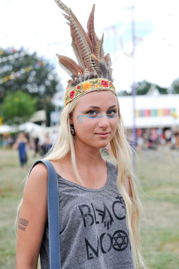 Festival feathers Photo: Kirstin Sinclair, FilmMagic