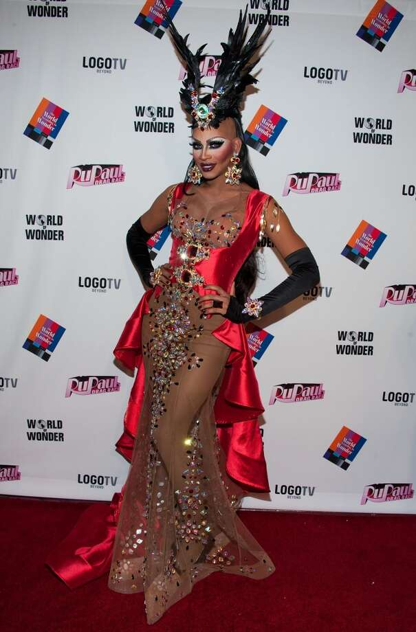 Drag feathers (Lineysha Sparx) Photo: Valerie Macon, Getty Images