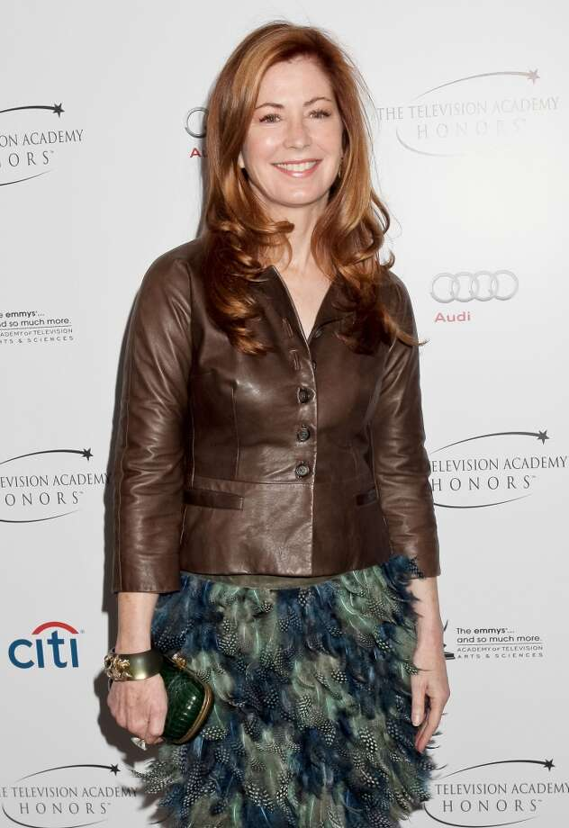 Checkered feathers (Dana Delany) Photo: Tibrina Hobson, WireImage