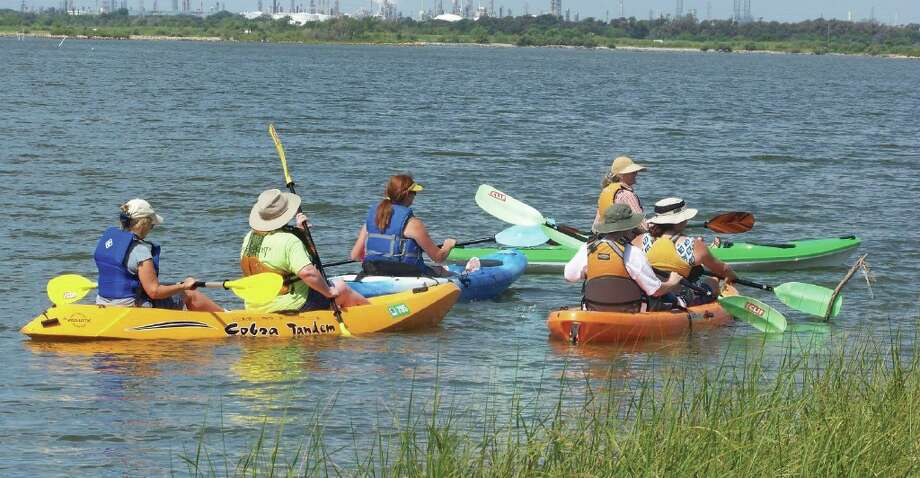 A kayaking orientation class will be held at Baytown Nature Center Sept. 7. Photo: Provided By City Of Baytown Parks And Recreation