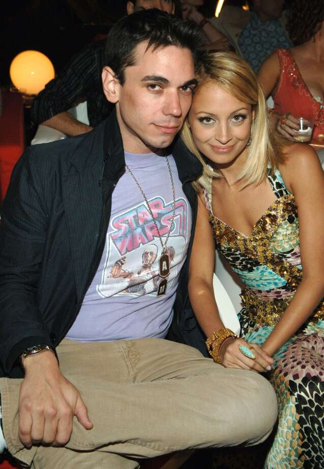 DJ AM and Nicole Richie at the 2005 MTV VMAs. DJ AM died of an apparent drug overdose in 2009, not quite a year after he was seriously injured in a plane crash with Blink-182's Travis Barker that killed four people. Photo: Kevin Mazur, WireImage
