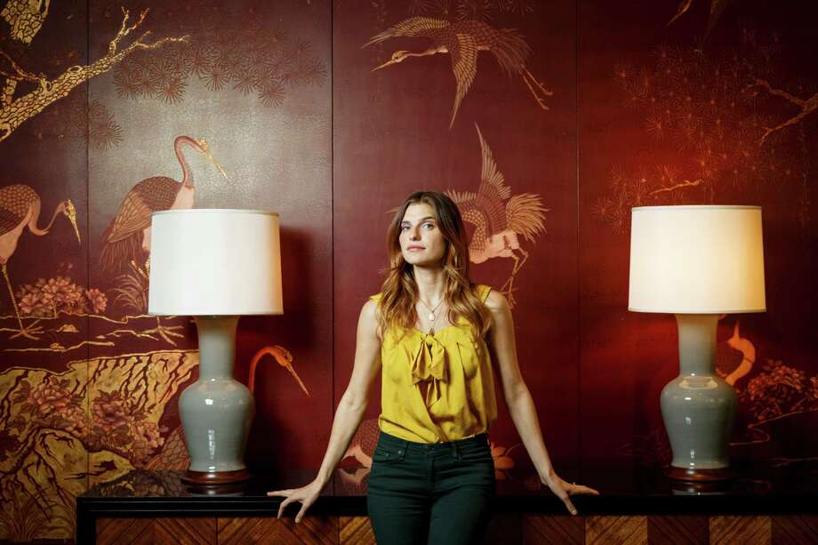 """Lake Bell wrote, directed and stars in the film """"In a World..."""" Photo: Michael Paulsen, Staff / © 2013 Houston Chronicle"""