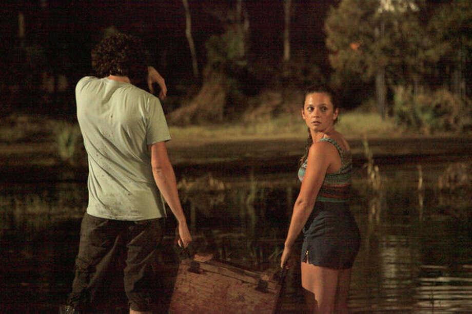 Mackenzie Rosman as Ava in 'Ghost Shark.' Photo: Syfy / 2013 Syfy Media, LLC