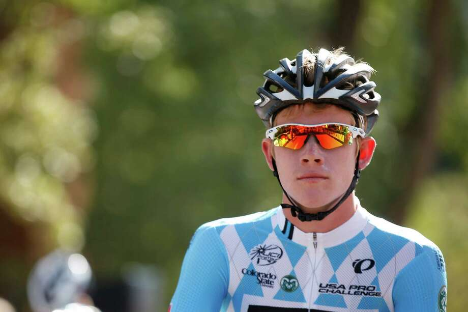 ASPEN, CO - AUGUST 20:  Lawson Craddock of the United States stands on the start line during stage two of the 2013 USA Pro Cycling Challenge on August 20, 2013 in Aspen, Colorado. Photo: Chris Graythen, Getty Images / 2013 Getty Images