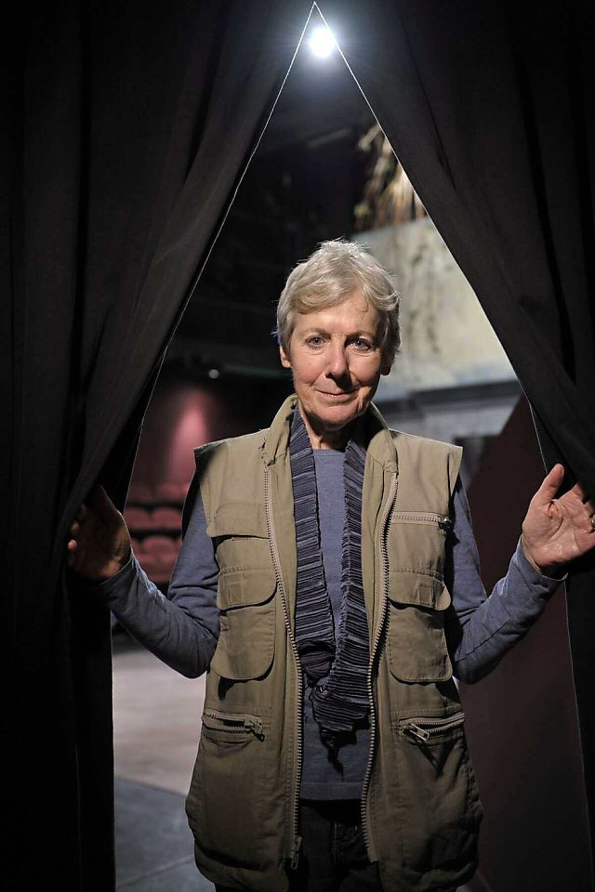 """Veteran Bay Area actor and director Joy Carlin has had a busy year. She's got a juicy scene in Woody Allen's """"Blue Jasmine,"""" she performed in MarinTheatre Company's acclaimed """"Beauty Queen of Leenane"""" and she's directing Aurora Theatre Company's season-opener, """"After the Revolution,"""" through Sept. 29. Photo by David Allen"""