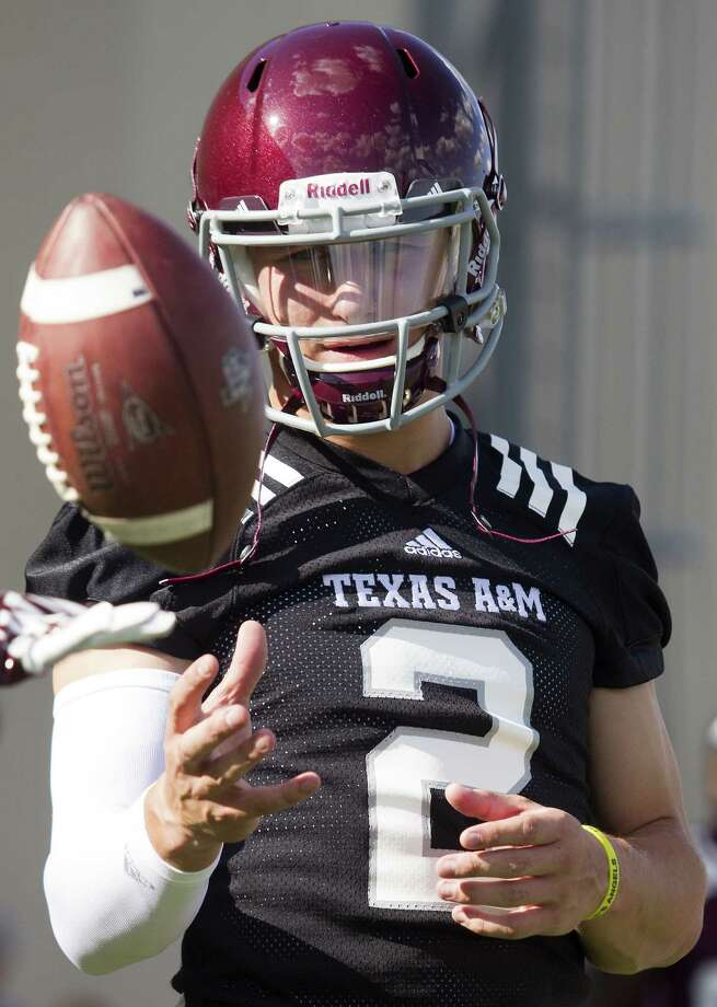Aggies and others in Texas are holding their collective breath while the Johnny Manziel probe unfolds. Photo: Associated Press