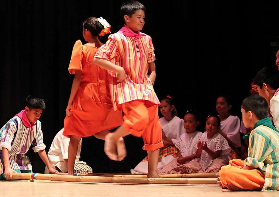 Students from an American Center of Philippine Arts dance group will perform at Pistang Bata. Photo: Rhythmix Cultural Works