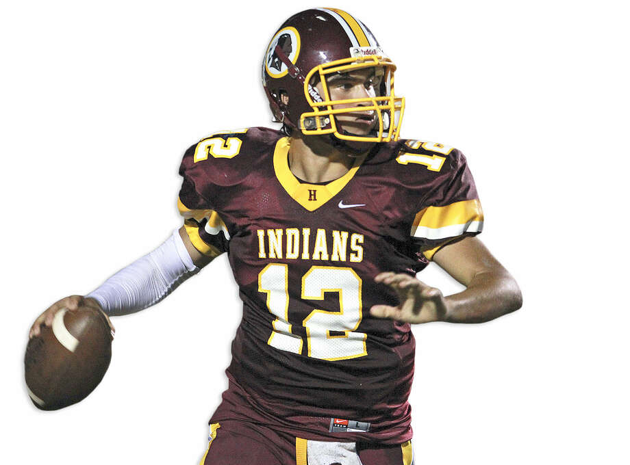 Harlandale quarterback Brandon Ramon enters 2013 after passing for nearly 2,500 yards last year. Photo: Tom Reel / San Antonio Express-News