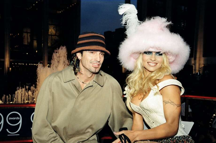 Tommy Lee and Pamela Anderson in 1999, after they divorced. Photo: Jeff Kravitz, FilmMagic