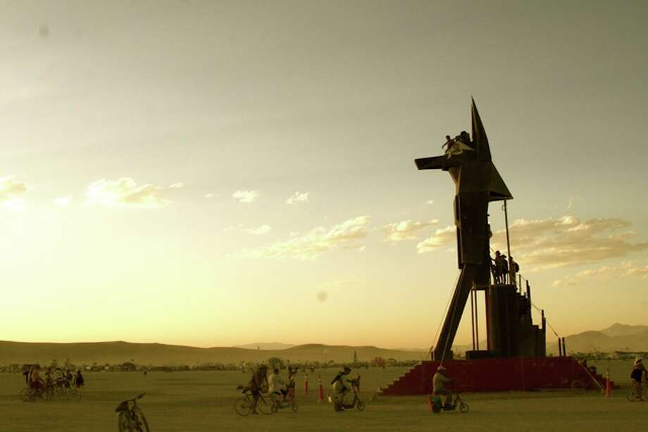 Anubis. Egyptian dog. Enormous, striking, sort of wonderful. He burned on Friday during a dust storm.