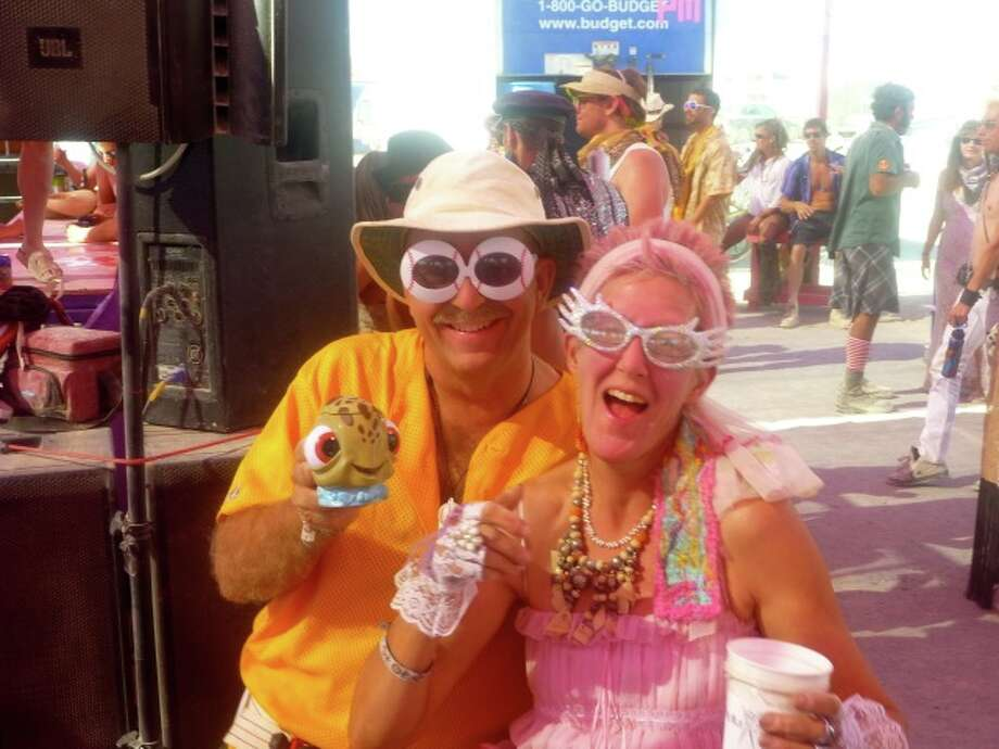 Who says your crazy grandparents can't rock Burning Man?