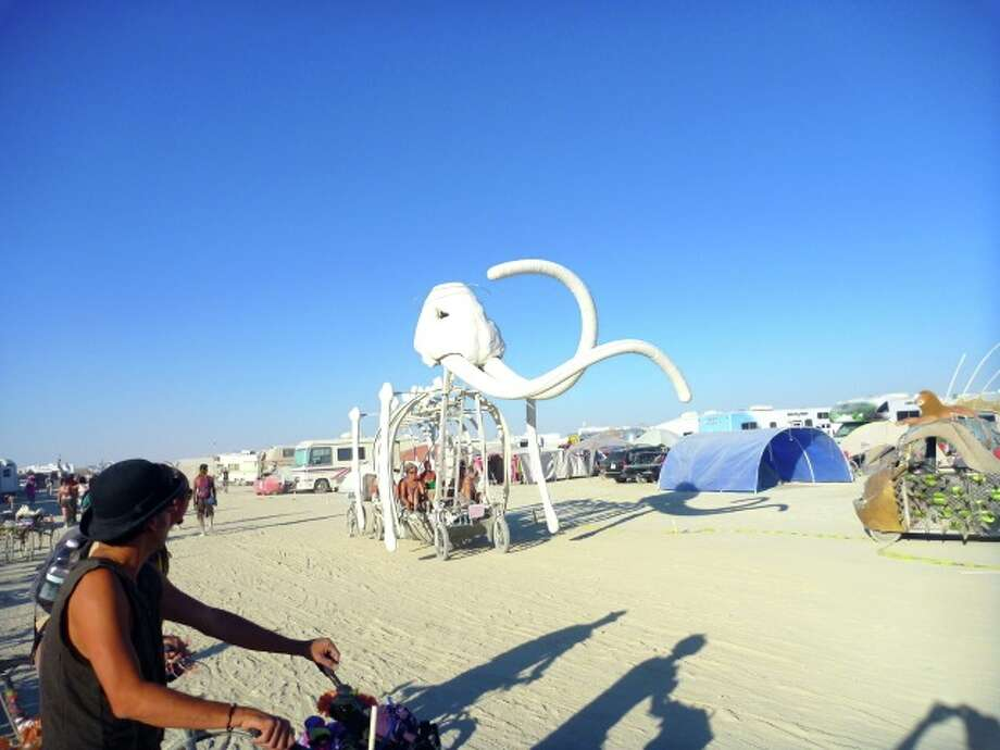 This one's been out on the playa many, many times over the years. Simple, cool, classic.