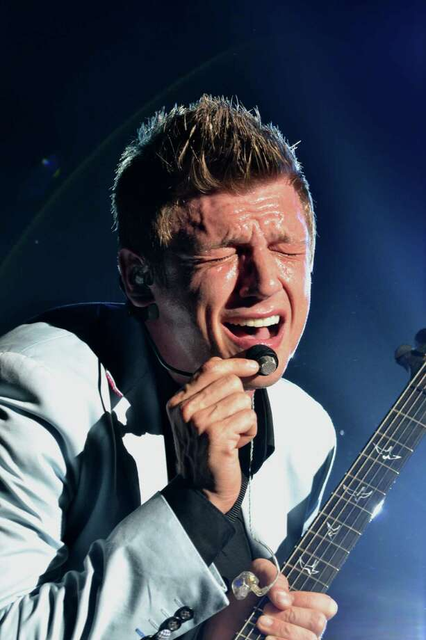 Nick Carter of the Backstreet Boys performs on the Backstreet Boys: In A World Like This tour at Bank of America Pavilion on Aug. 12, 2013 in Boston, Massachusetts. Photo: Harry Woods, WireImage / 2013 Harry Woods