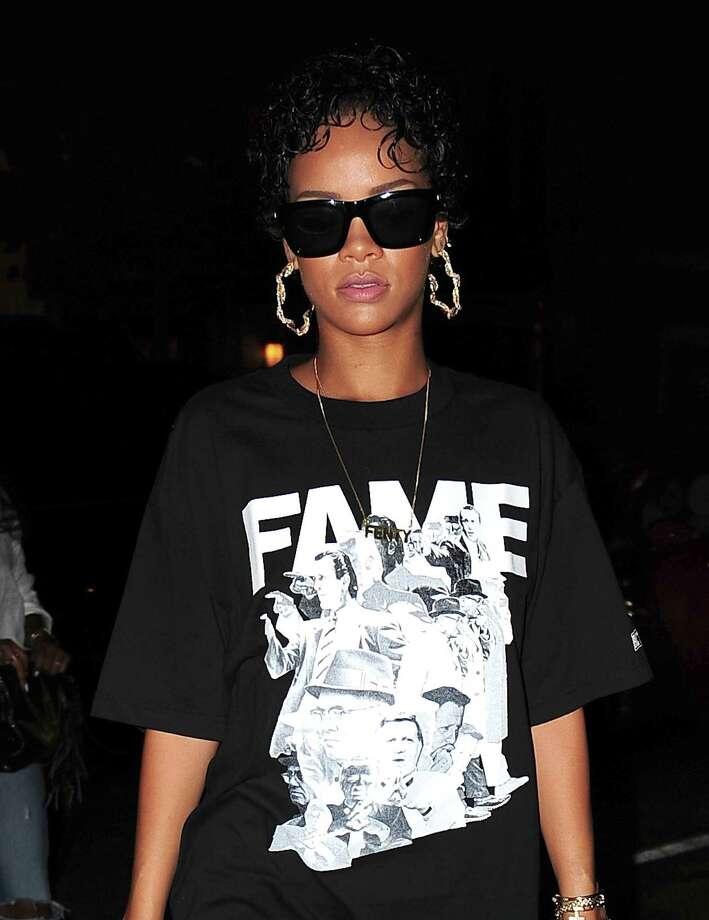 Rihanna is seen in the West Village on Aug. 12, 2013 in New York. Photo: Alo Ceballos, FilmMagic / 2013 Alo Ceballos