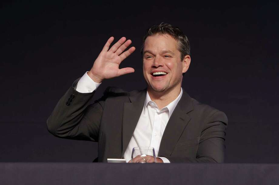 "Actor Matt Damon attends the ""Elysium"" press conference on Aug. 14, 2013 in Seoul, South Korea. Photo: Chung Sung-Jun, Getty Images / 2013 Getty Images"