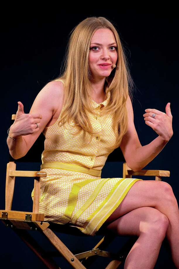 Amanda Seyfried attends a 'Meet The Actor' event at Apple Store, Regent Street on Aug. 13, 2013 in London. Photo: Danny Martindale, WireImage / 2013 Danny Martindale