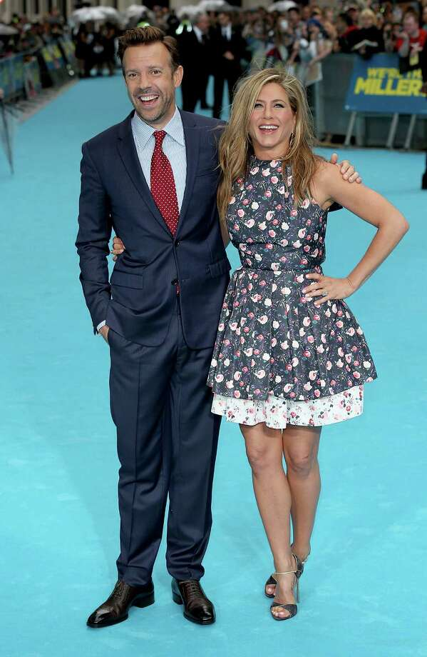 Jason Sudeikis and Jennifer Aniston attend the European premiere of 'We're The Millers' at Odeon West End on Aug. 14, 2013 in London. Photo: Tim P. Whitby, Getty Images / 2013 Getty Images