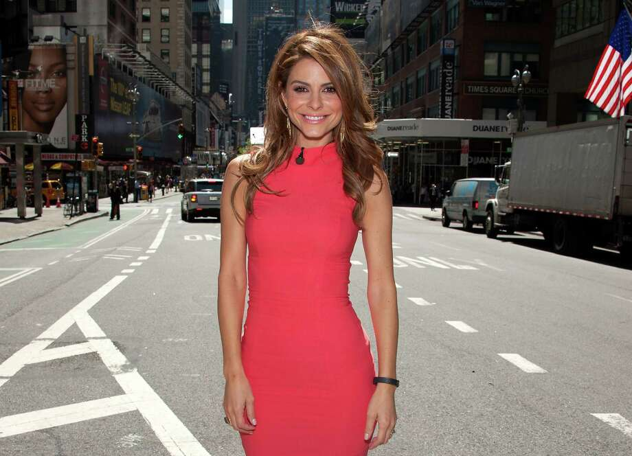 "Maria Menounos hosts ""Extra"" in Times Square on Aug. 15, 2013 in New York. Photo: D Dipasupil, Getty Images For Extra / 2013 D Dipasupil"