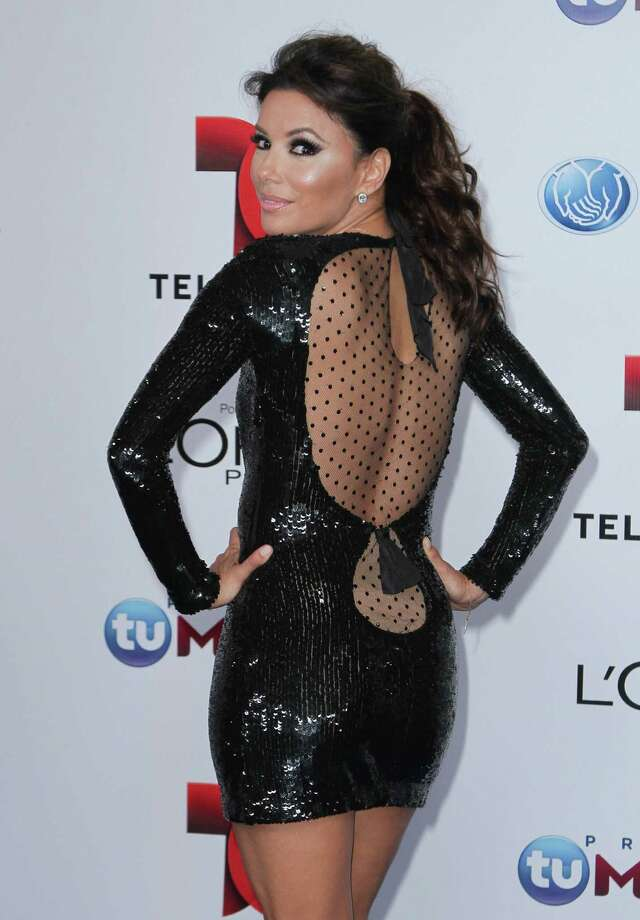Eva Longoria arrives at Telemundo's Premios Tu Mundo Awards at American Airlines Arena on Aug. 15, 2013 in Miami, Florida. Photo: John Parra, FilmMagic / 2013 John Parra