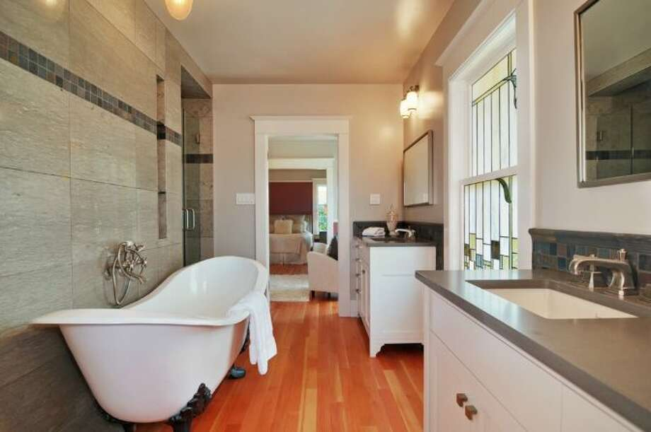 Master bathroom of 2405 Federal Ave. E. It's listed for $1.45 million. Photo: Courtesy Leslie Ota, Windermere Real Estate