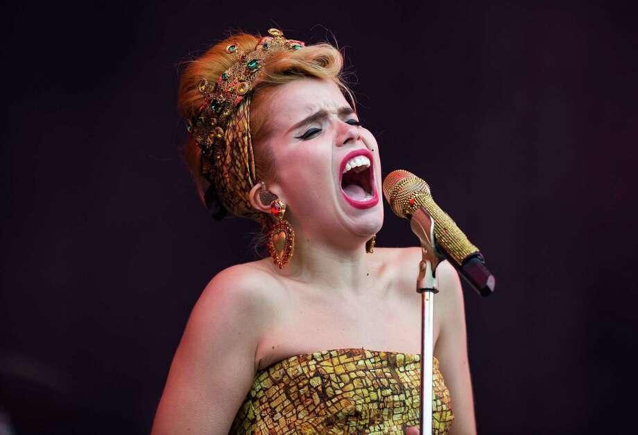 Paloma Faith performs live on the Virgin Media Stage on day 1 of V Festival at Hylands Park on Aug. 17, 2013 in Chelmsford, England. Photo: Samir Hussein, WireImage / 2013 Samir Hussein