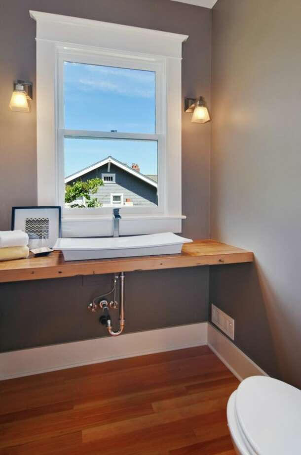 Powder room of 2405 Federal Ave. E. It's listed for $1.45 million. Photo: Courtesy Leslie Ota, Windermere Real Estate