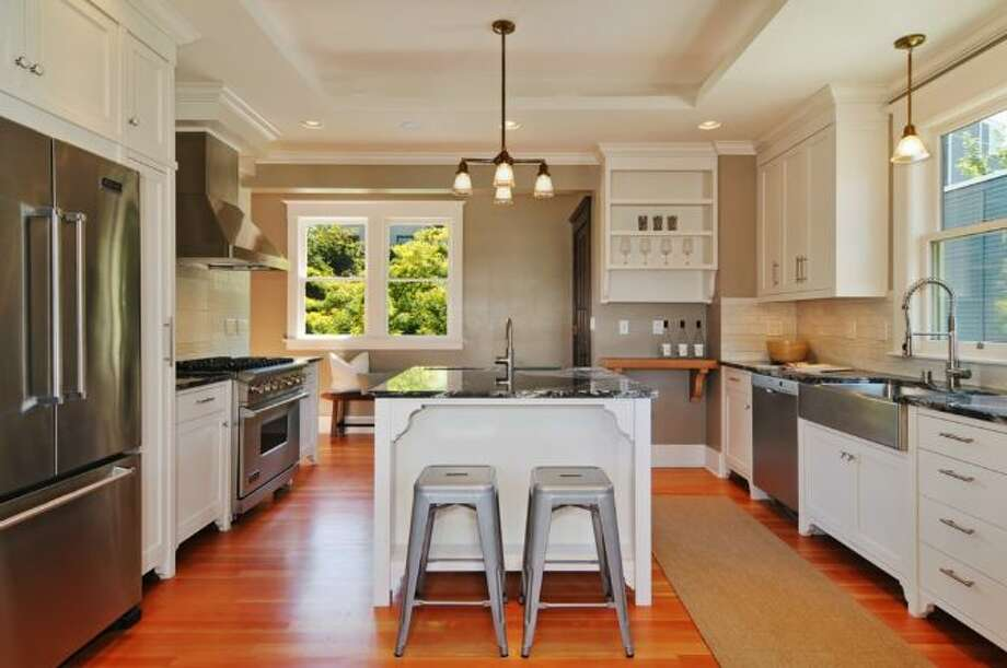 Kitchen of 2405 Federal Ave. E. It's listed for $1.45 million. Photo: Courtesy Leslie Ota, Windermere Real Estate