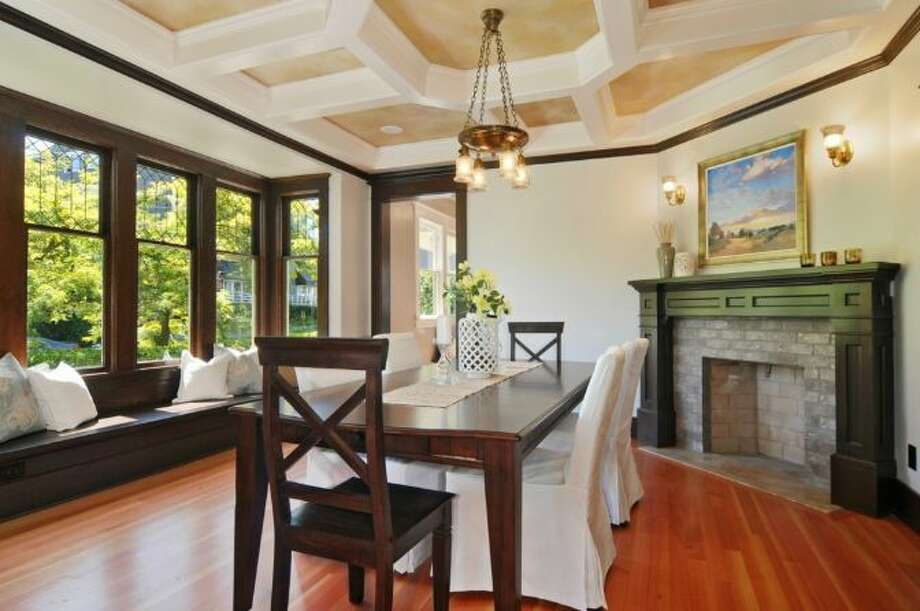 Dining room of 2405 Federal Ave. E. It's listed for $1.45 million. Photo: Courtesy Leslie Ota, Windermere Real Estate