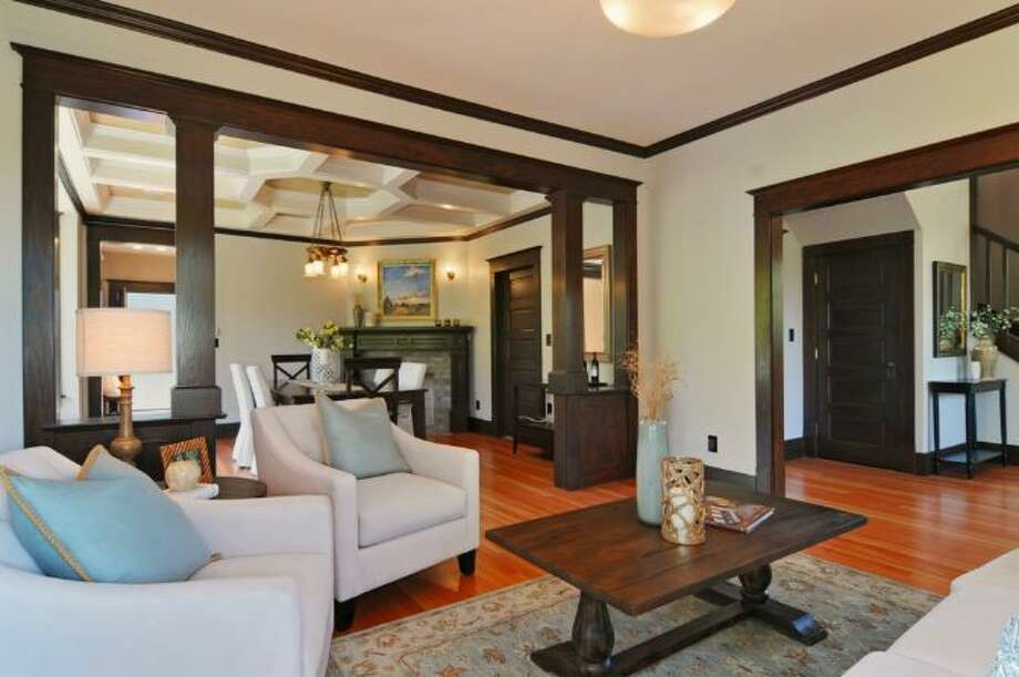 Living room of 2405 Federal Ave. E. It's listed for $1.45 million. Photo: Courtesy Leslie Ota, Windermere Real Estate