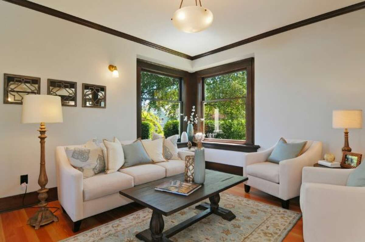 Living room of 2405 Federal Ave. E. It's listed for $1.45 million.