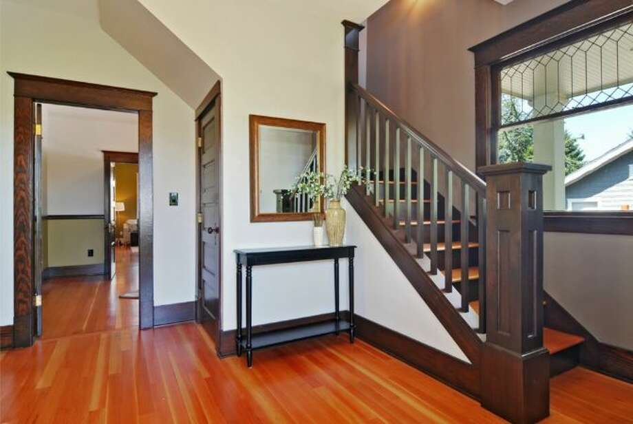 Entry of 2405 Federal Ave. E. It's listed for $1.45 million. Photo: Courtesy Leslie Ota, Windermere Real Estate