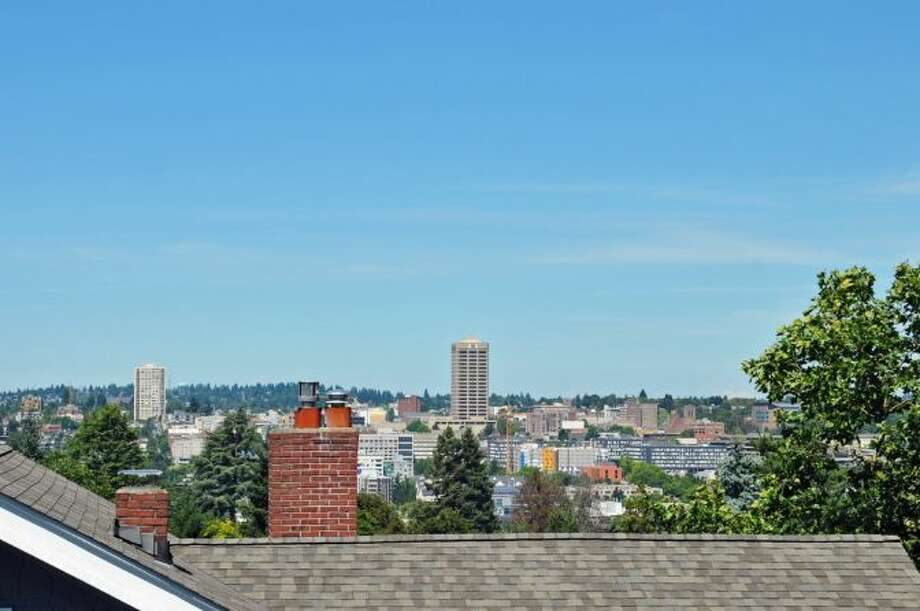 View from 2405 Federal Ave. E. It's listed for $1.45 million. Photo: Courtesy Leslie Ota, Windermere Real Estate