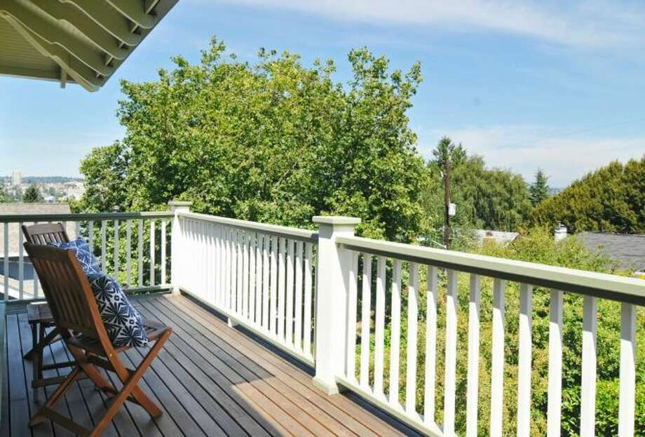Balcony of 2405 Federal Ave. E. It's listed for $1.45 million. Photo: Courtesy Leslie Ota, Windermere Real Estate