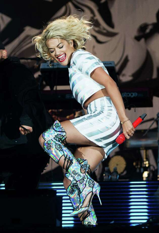 Rita Ora performs live on the 4 Music Stage on day 2 of V Festival at Hylands Park on Aug. 18, 2013 in Chelmsford, England. Photo: Samir Hussein, WireImage / 2013 Samir Hussein