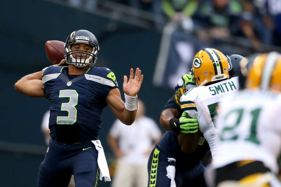 1. Finally, some good first-team actionThe Seahawks are treating Friday's preseason game like a dress rehearsal -- meaning we should see a lot more out of the starters than we did in the previous two preseason match-ups. It ought to be fun to watch quarterback Russell Wilson (pictured) do his thing ... and if it's not fun, that's a problem.   Wilson played little in the first two preseason games, so we'll get our first real chance to watch him manage a game again Friday. He'll likely play for much of the first half before turning the ball over to his backups, Tarvaris Jackson and Brady Quinn. (By the way, it's looking like Jackson will beat out Quinn for the job.)  Meanwhile, we should also see a bit more out of running back Marshawn Lynch -- but don't be surprised if he sits out most of Friday. Also missing will be starters Sidney Rice (knee), Zach Miller (foot) and Michael Robinson (illness), so not the entire first team will be playing. Photo: Otto Greule Jr, Getty Images