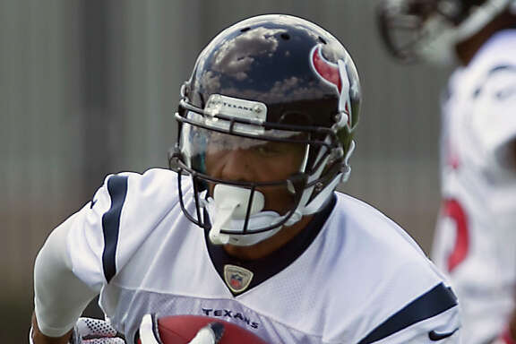 Even with his increased workload in practice, Arian Foster, left, isn't expected to hit his stride until the season opener. Coach Gary Kubiak doesn't anticipate playing his starting running back Sunday against the Saints and is more concerned at this point with getting Foster a lot of practice time to get his conditioning up to speed.