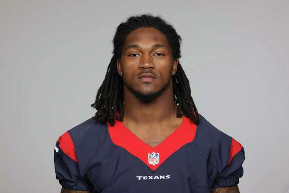 This is a 2013 photo of DJ Swearinger of the Houston Texans NFL football team. This image reflects the Houston Texans active roster as of Thursday, June 20, 2013 when this image was taken. (AP Photo)