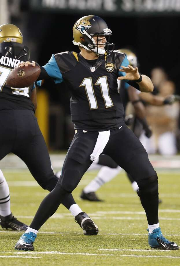32. Jacksonville JaguarsThe Jaguars definitely failed with their new uniform design. The gold to black fade on the helmets is a big no-no. Photo: John Minchillo, Associated Press