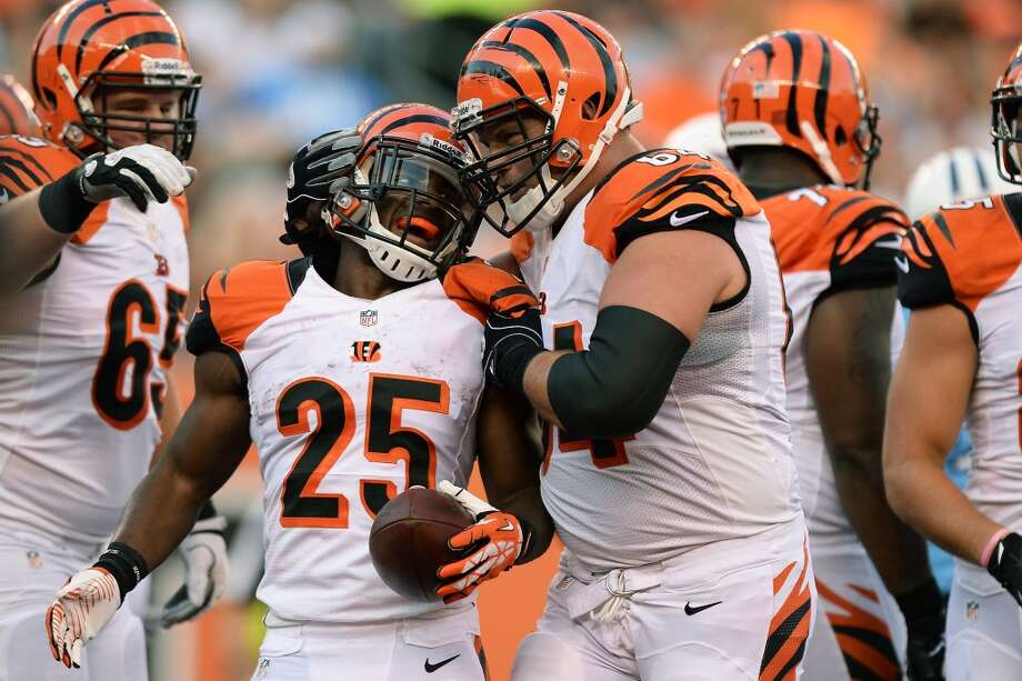 31. Cincinnati BengalsStripes on top of stripes on top of orange. Nothing more to say about these. Photo: Jamie Sabau, Getty Images