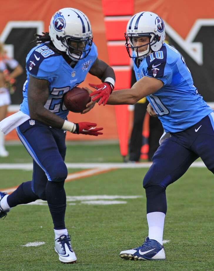 26. Tennessee Titans  Don't know which shade of blue to use? Just use both. Bad combo. Photo: Tom Uhlman, Associated Press