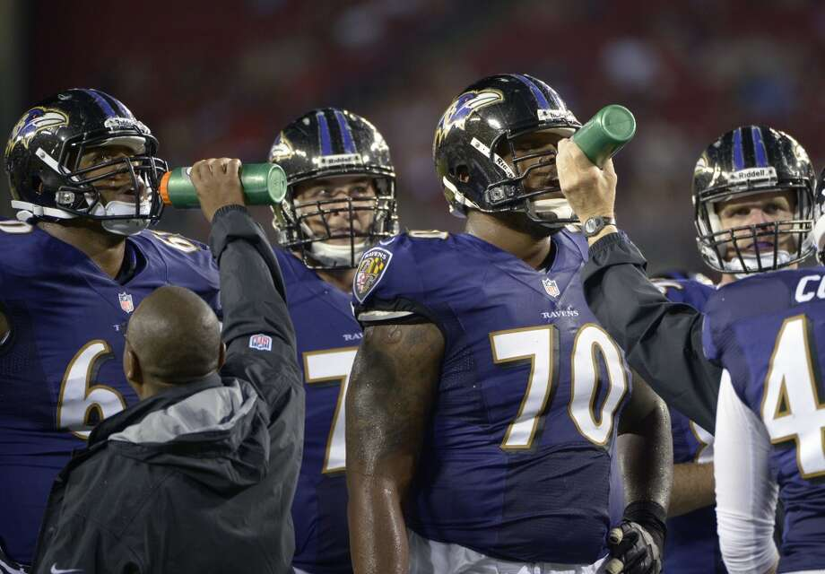 24. Baltimore Ravens  There's nothing intimidating about a purple jersey. Photo: Phelan M. Ebenhack, Associated Press