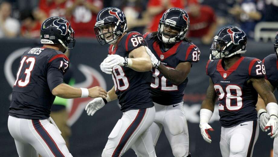 23. Houston Texans  The classic look has many fans dreaming of a re-design. Photo: Brett Coomer, Houston Chronicle