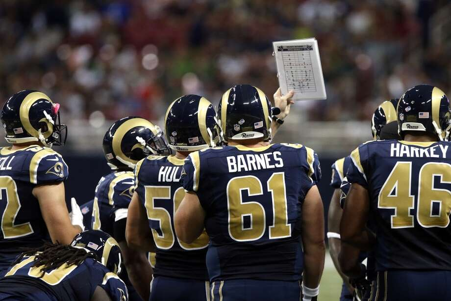 21. St. Louis Rams  Besides the helmet, the Rams are lacking in uniform quality. Photo: Seth Perlman, Associated Press