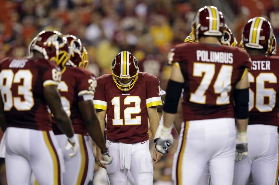 19. Washington RedskinsHave the Redskins ever changed their uniforms? Photo: Patrick Semansky, Associated Press