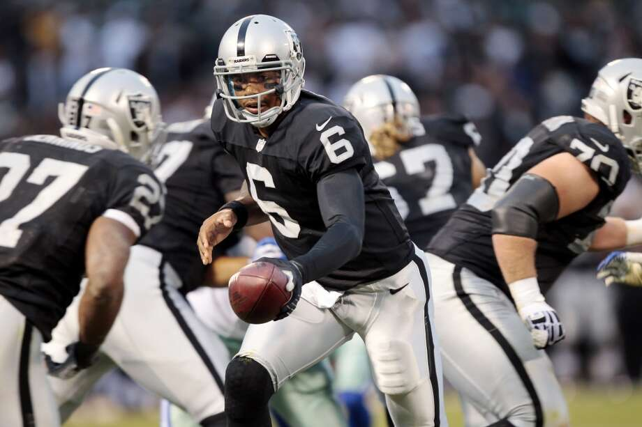 3. Oakland Raiders  Black and silver - no need to say any more. Photo: Brian Bahr, Getty Images