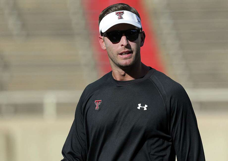 Excitement surrounding Texas Tech football is at a fever pitch with first-year coach Kliff Kingsbury at the helm. Photo: Stephen Spillman / Lubbock Avalanche-Journal