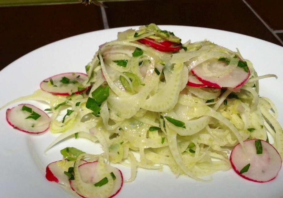 Fennel salad at Big Sur Roadhouse