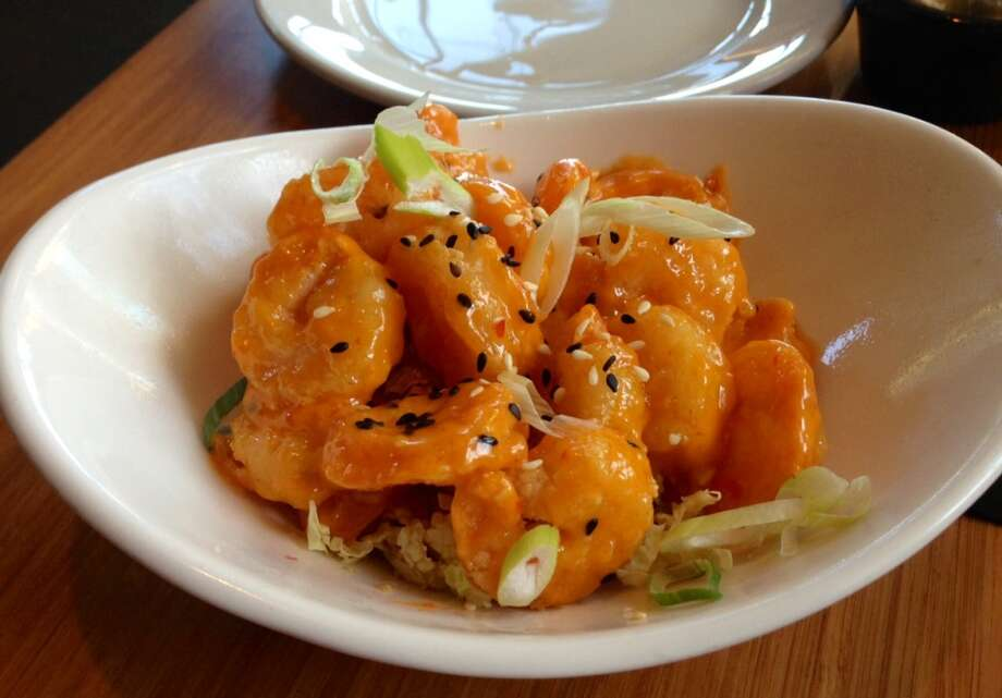 Firecracker shrimp at the Beach House in Pacific Grove