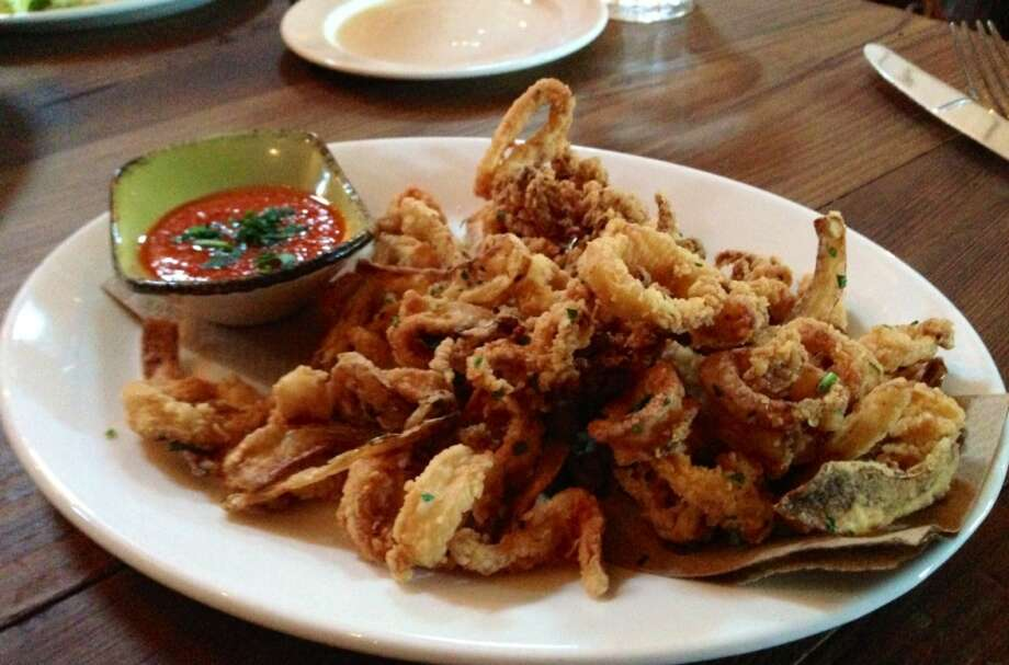 Calamari at Portola Kitchen in Portola Valley