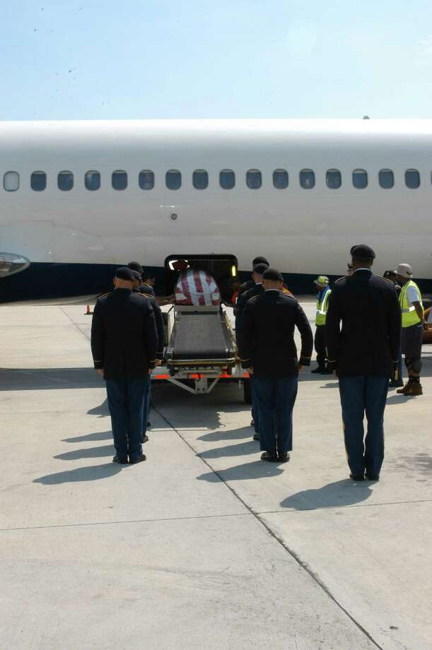 Sgt. Clement Thibodeaux Jr. arrived July 23 in New Orleans. Family members were surprised by the show of support from the community and the military honors given to the soldier's remains.  Thibodeaux died in 1951 in a prisoner of war camp in what is now North Korea. Photo: None